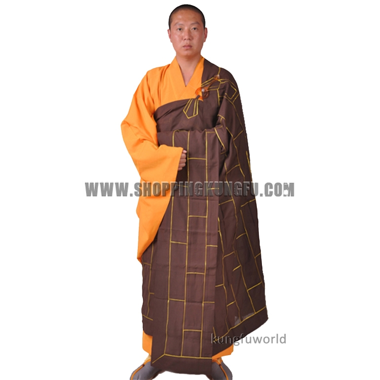 Custom Tailored Extra Big Size Buddhist Monk Dress Haiqing Robe Meditation Suit